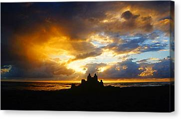 Waterfront Castle Of Your Own Canvas Print