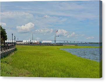 Waterfront Park Charleston Canvas Print