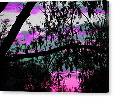 Canvas Print featuring the photograph Waterloo Sunset by Susan Carella