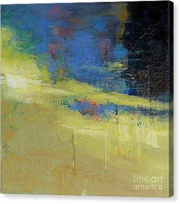 Waters' Poetry 7 Canvas Print by Melody Cleary