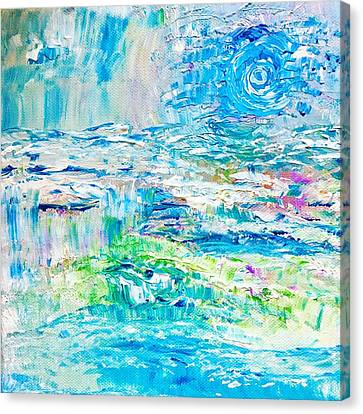 Canvas Print - Waters Restore by Amy Drago