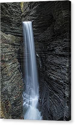 Watkins Glen Cavern Cascade Canvas Print
