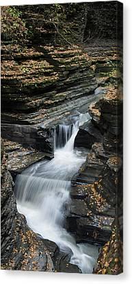 Canvas Print featuring the photograph Watkins Glen Rapids by Joshua House