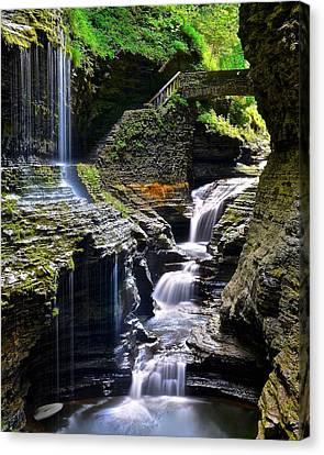 Watkins Rainbow Falls Canvas Print