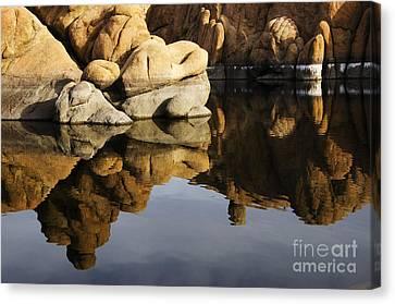 Watson Lake Canvas Print - Watson Lake Arizona 3 by Bob Christopher