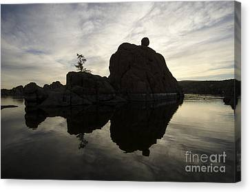 Watson Lake Arizona 6 Canvas Print by Bob Christopher