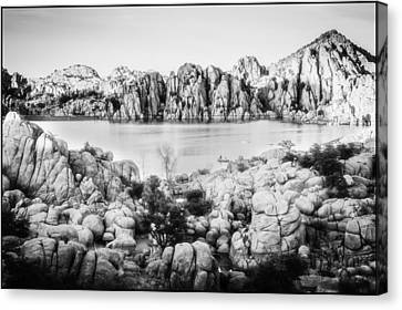 Watson Lake Solace Canvas Print by Nancy Forehand Photography
