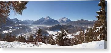 Watzmann Panorama 2 Canvas Print by Rudi Prott