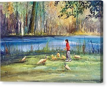 Wautoma Mill Pond Canvas Print by Ryan Radke