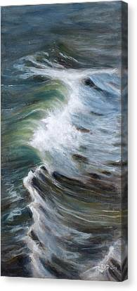 Wave 75 Canvas Print by Christopher Reid
