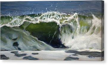 Wave 77 Canvas Print by Christopher Reid