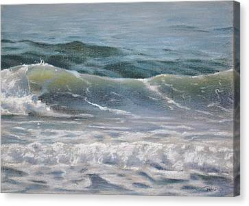 Wave Canvas Print by Christopher Reid