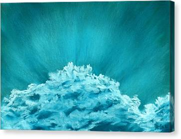 Wave Cloud - Sky And Clouds Collection Canvas Print by Anastasiya Malakhova