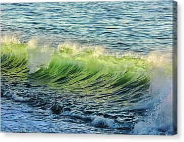 Wave Crest Canvas Print by Kelley King