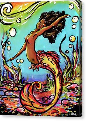 Wave Dancer  Canvas Print
