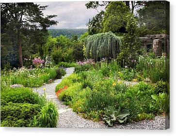 Wave Hill Spring Garden Canvas Print by Jessica Jenney