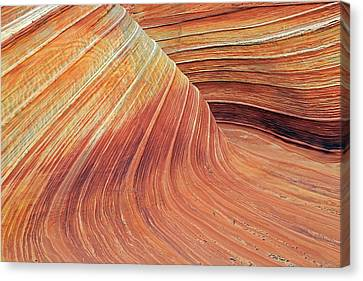 Wave Canvas Print by Johnny Adolphson