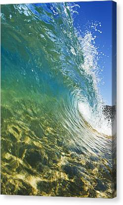 Wave - Makena Canvas Print