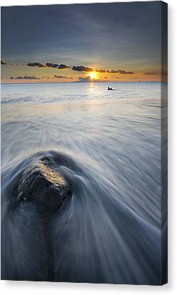 Wave Canvas Print by Ng Hock How