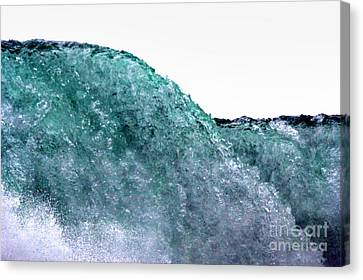 Canvas Print featuring the photograph Wave Rider by Dana DiPasquale