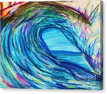 Wave Variation Canvas Print by Jamey Balester