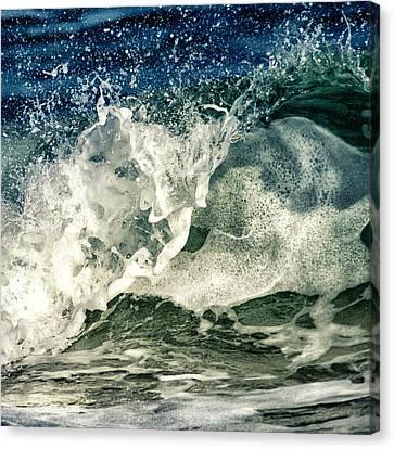 Wave1 Canvas Print by Stelios Kleanthous
