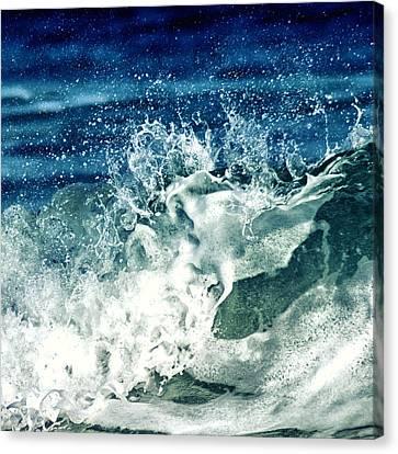 Wave2 Canvas Print by Stelios Kleanthous