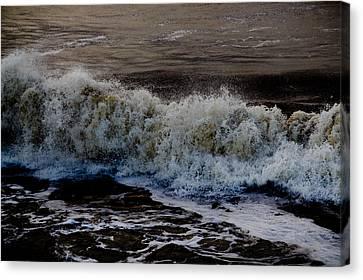 Waves Detail Canvas Print