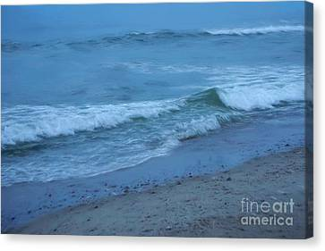 waves II Canvas Print by HD Connelly