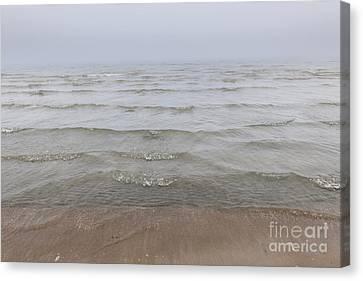 Waves In Fog Canvas Print by Elena Elisseeva