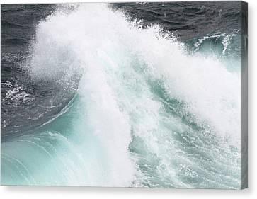 Waves  Canvas Print by Jeremy Bishop