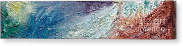 Waves Of Color Canvas Print
