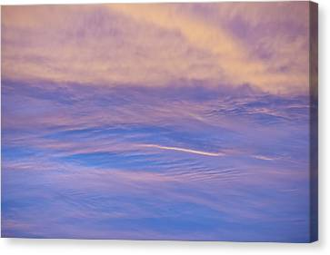 Canvas Print featuring the photograph Waves Of Color by Wanda Krack