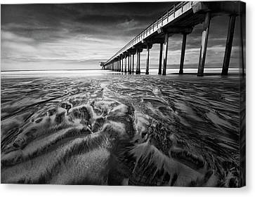 Waves Of Sand Canvas Print by Ryan Weddle