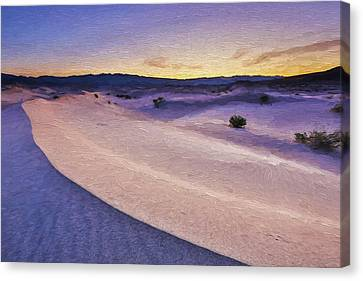 Waves Of Sound II Canvas Print by Jon Glaser