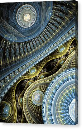 Waves Of Time 2 Canvas Print by Martin Capek