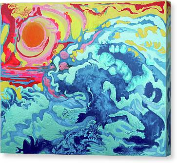 Wavesetting #2 Canvas Print