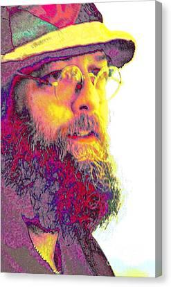 Wavey Dave II Canvas Print by Jesse Ciazza