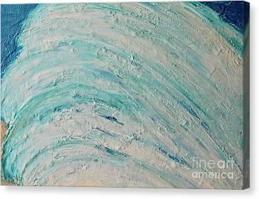 Big Kahuna Canvas Print - Waving I by Kim Nelson