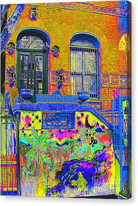 Wax Museum Harlem Ny Canvas Print by Steven Huszar