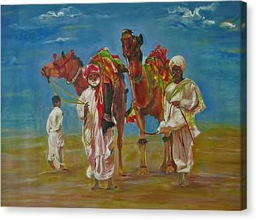 Way Of Life Canvas Print by Khalid Saeed