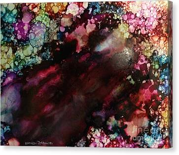 Canvas Print featuring the painting Way Out by Denise Tomasura