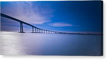 Way Over The Bay II Canvas Print by Ryan Weddle