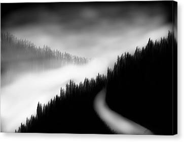 Way To The Unknown Canvas Print by Salman Ravish