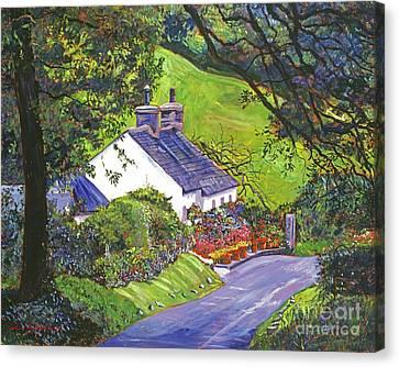 Wayside House Canvas Print by David Lloyd Glover