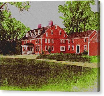 Wayside Inn 1875 Canvas Print