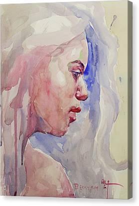Wc Portrait 1618 Canvas Print