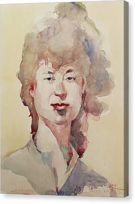 Wc Portrait 1626 My Sister Eunja Canvas Print