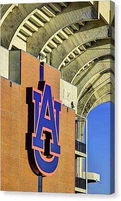 Wde From Jordan Hare Canvas Print by JC Findley