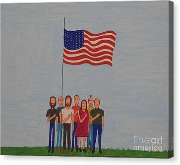 We Pledge Canvas Print by Gregory Davis